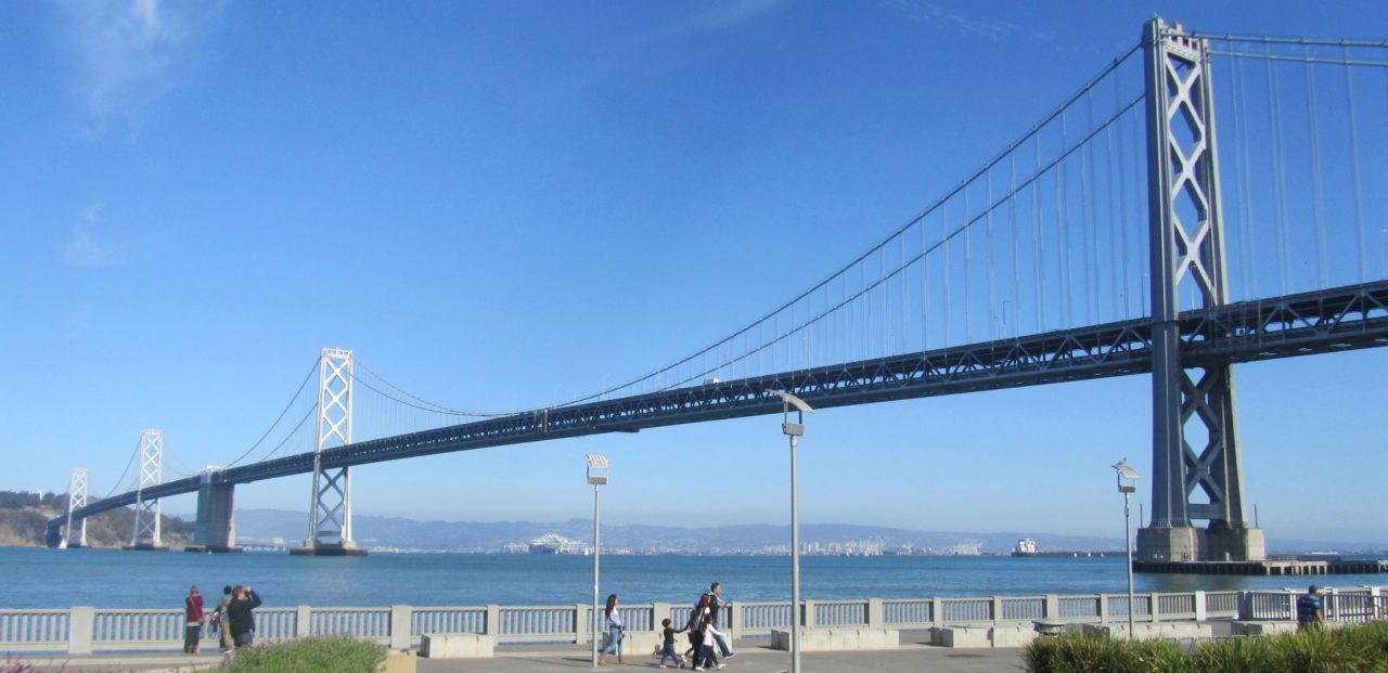 Golden Gate Bridge: San Francisco's OTHER bridge, the Bay Bridge