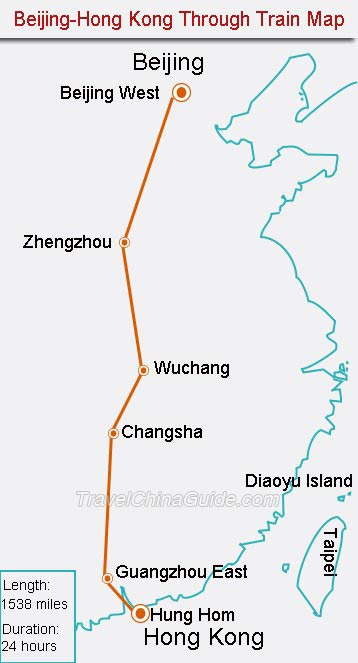 Slow train from China: The route