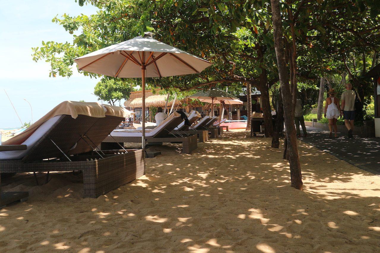 """""""Our"""" beach at Sanur"""